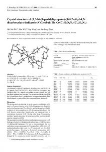 Crystal structure of (1,3-bis(4-pyridyl)propane)-(1H-2
