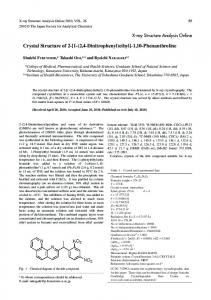 Crystal Structure of 2-[1-(2,4-Dinitrophenyl)ethyl]-1,10 ...