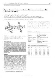 Crystal structure of catena-bis(imidazole)