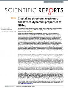 Crystalline structure, electronic and lattice-dynamics properties of NbTe2
