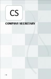 CS : Company Secretary - Knowledge Academy