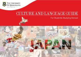 CULTURE AND LANGUAGE GUIDE