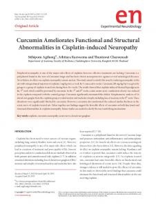 Curcumin Ameliorates Functional and Structural ... - Semantic Scholar