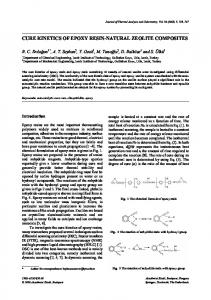 cure kinetics of epoxy resin-natural zeolite composites - Springer Link