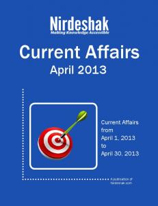 Current Affairs March 2013 - OnDoc
