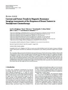 Current and Future Trends in Magnetic Resonance Imaging ...