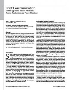 Current Applications and Future Directions - International Association ...