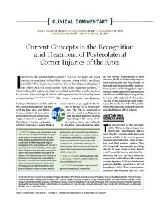 Current Concepts in the Recognition and Treatment of ... - jospt