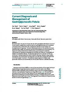 Current Diagnosis and Management of ... - Semantic Scholar