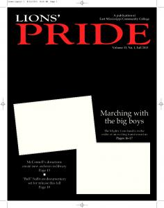 Current issue Fall 2013 - East Mississippi Community College