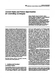 Current Status and Future Opportunities for Controlling ... - Springer Link