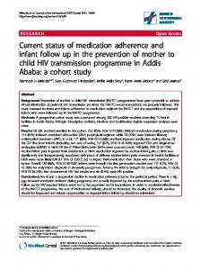 Current status of medication adherence and ... - Wiley Online Library