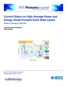 Current Status on High Average Power and Energy ... - IEEE Xplore