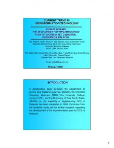 current trend in geoinformation technology introduction