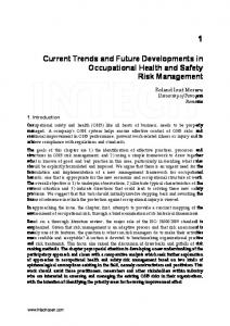 Current Trends and Future Developments in ... - Semantic Scholar