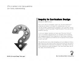 curriculum design template - San Francisco State University