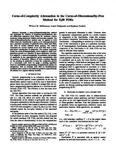 Curse-Of-Complexity Attenuation in the Curse-Of ... - CMAP