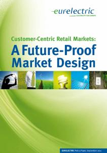Customer-Centric Retail Markets - Eurelectric