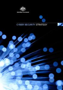 Cyber Security Strategy (PDF) - Attorney-General's Department