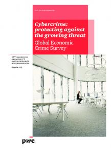 Cybercrime: protecting against the growing threat Global Economic ...