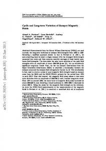 Cyclic and Long-term Variation of Sunspot Magnetic Fields