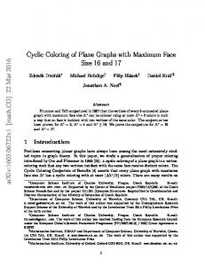 Cyclic Coloring of Plane Graphs with Maximum Face Size 16 and 17