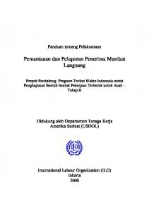 daftar isi - International Labour Organization