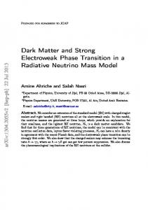 Dark Matter and Strong Electroweak Phase Transition in ... - inspire-hep