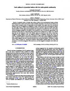 Dark solitons in dynamical lattices with the cubic ... - APS Link Manager