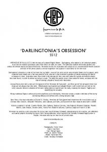 'DARLINGTONIA'S OBSESSION' - Hermione de Paula