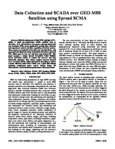Data Collection and SCADA over GEO-MSS Satellites ... - IEEE Xplore