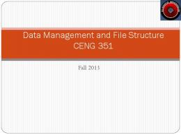 Pdf structure and data file