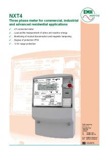 data specification - EMH metering GmbH & Co. KG