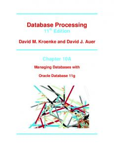 Database Processing - Pearson Education