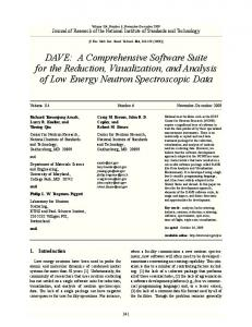 DAVE - NIST Page