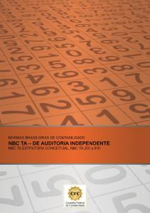 de auditoria independente nbc ta estrutura conceitual, nbc ta 200