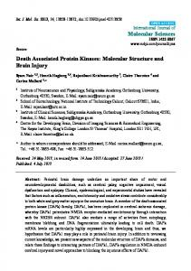 Death Associated Protein Kinases - MDPI