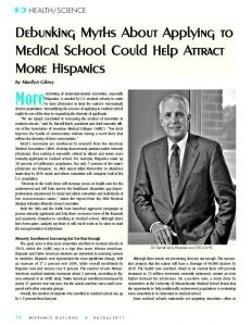 Debunking Myths About Applying to Medical School