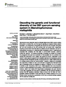 Decoding the genetic and functional diversity of