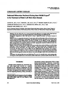 Dedicated Bifurcation PaclitaxelEluting Stent ... - Wiley Online Library