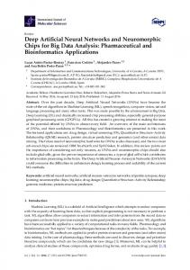 Deep Artificial Neural Networks and Neuromorphic Chips for Big Data ...