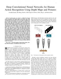 Deep Convolutional Neural Networks for Human Action Recognition