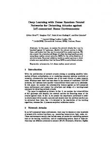 Deep Learning with Dense Random Neural Networks