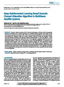 Deep Reinforcement Learning Based Dynamic Channel ... - IEEE Xplore