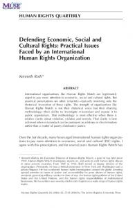 Defending Economic, Social and Cultural Rights - ICESCR | Online ...