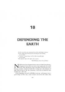 defending the earth