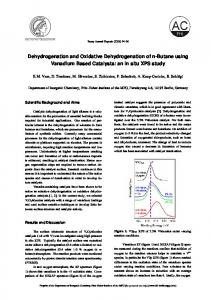 Dehydrogenation and Oxidative Dehydrogenation of