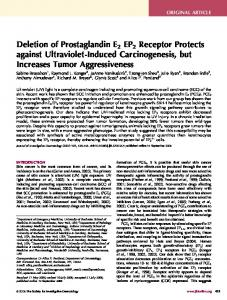 Deletion of Prostaglandin E2 EP2 Receptor Protects against ... - Core