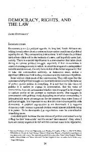 democracy, rights, and thelaw - Papers.ssrn.com