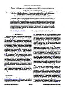 Density and isospin-asymmetry dependence of ... - APS Link Manager